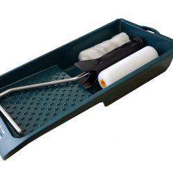 16502040-Silver Stripe X1 Foam X1 Mini Roller Kit (2Refills)-XL Green Tray 1